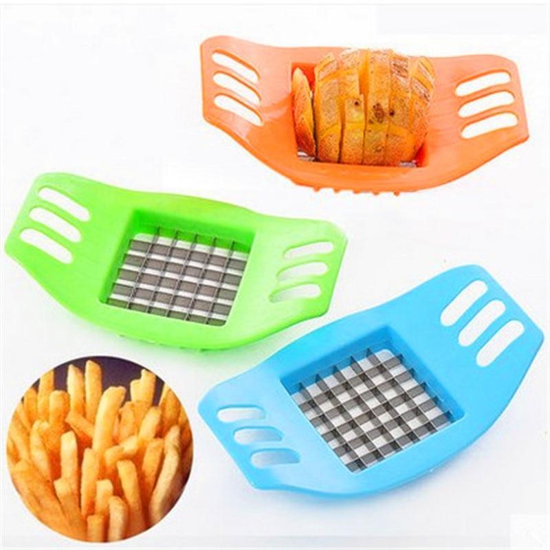 8079bd9d9550c7 Ménage en acier inoxydable de pommes de terre trancheuse éplucheur,  Pratique Légumes pomme de terre gadgets cuisine accessoires