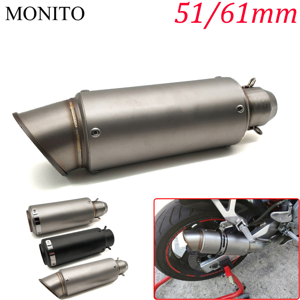 2019 Motorcycle SC exhaust escape Modified Exhaust Muffler DB Killer For DUCATI Monster M600 M620 M750 M900 Scrambler 11002019 Motorcycle SC exhaust escape Modified Exhaust Muffler DB Killer For DUCATI Monster M600 M620 M750 M900 Scrambler 1100