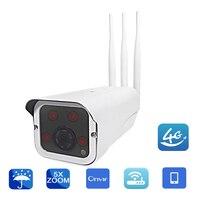 YSA Outdoor 1080P 960P 3G 4G SIM Card WIFI IP Camera CCTV Wireless Bullet Camera Support