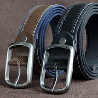 Large size 130cm 150cm belt 48 49 51inch Braided Woven Elastic Stretch Belt Wide 3.8cm Belt With Man Style Sales Genuine leather