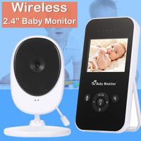 Baby Monitor video nanny camera wifi wireless w/ 2.4 LCD electronic baby intercom night vision audio bebe monitor baby phone