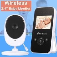 Baby Monitor video nanny camera wifi wireless w/ 2.4 LCD electronic baby intercom night vision audio bebe monitor baby phone