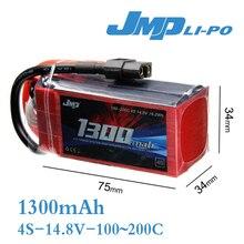 2pcs JMP Lipo Battery 1300mAh 14.8V 100-200C(Max 200C) 4S RFI Lipo Battery Pack for RC Hobb