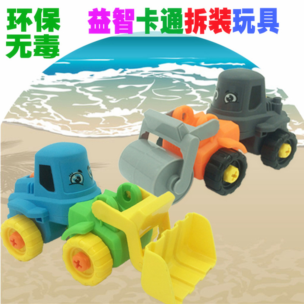 Now Kid Favorite Bauble Kid Fashion ABS Plastic Compactors/Bulldozer Blocks Toy Plastic Engineering Vehicles Educational Toys cool and fashion toy vehicles plastic mold