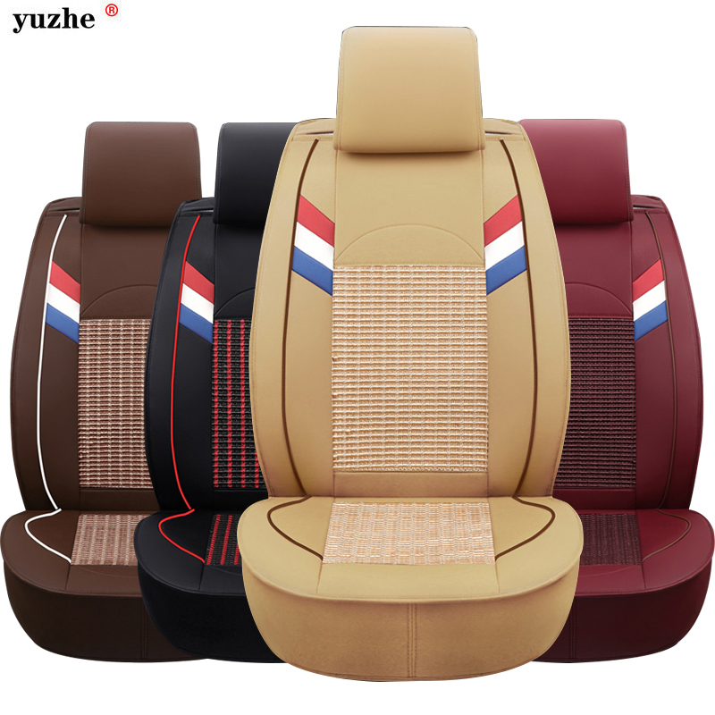 Universal Car seat covers For SEAT Ibiza Leon Toledo auto seat protector Car-styling cushion black red brown beige hot sale colorful girl seat covers for cars auto car safety child safety belt portable infant kiddy car seat for traveling