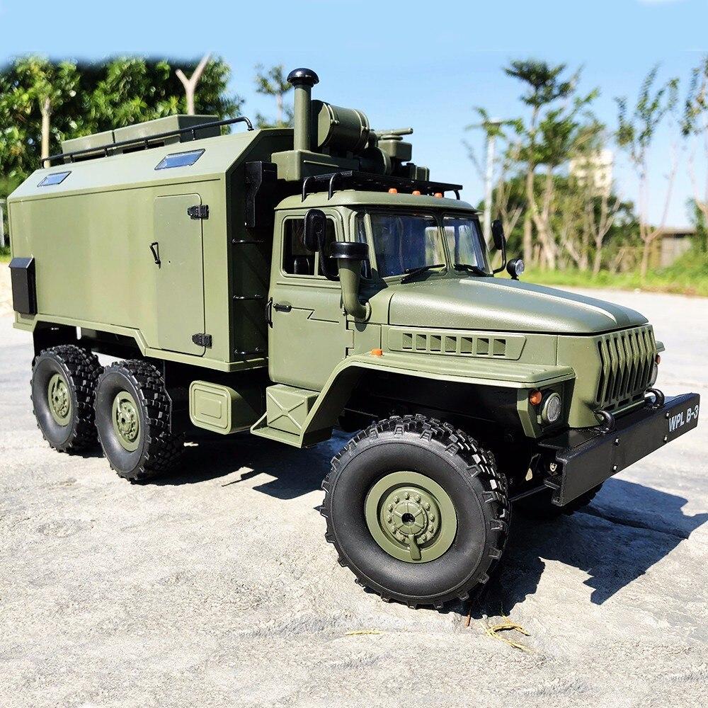 WPL B36 Ural 1/16 Kit 2,4G 6WD RC Auto Fernbedienung Spielzeug RC Military Crawler Off road Remote lkw kinder jungen spielzeug für Weihnachten-in RC-Autos aus Spielzeug und Hobbys bei  Gruppe 1