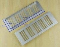 10Pcs Lot 150 80mm Aluminum Air Vent Ventilator Grille Cover Ventilation For Closet Shoe Shipping By