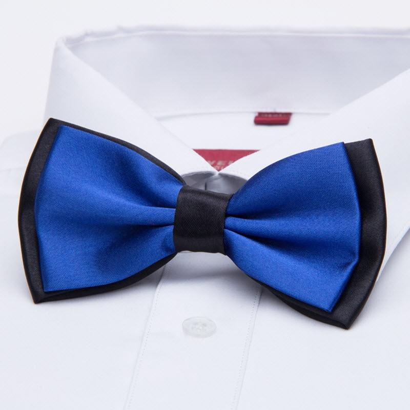 Bekleidung Zubehör 2-tone Mens Plain Bowties Frauen Smoking Allgemeine Partei Krawatten Schmetterling Jacquard Bowtie 1000 Stücke