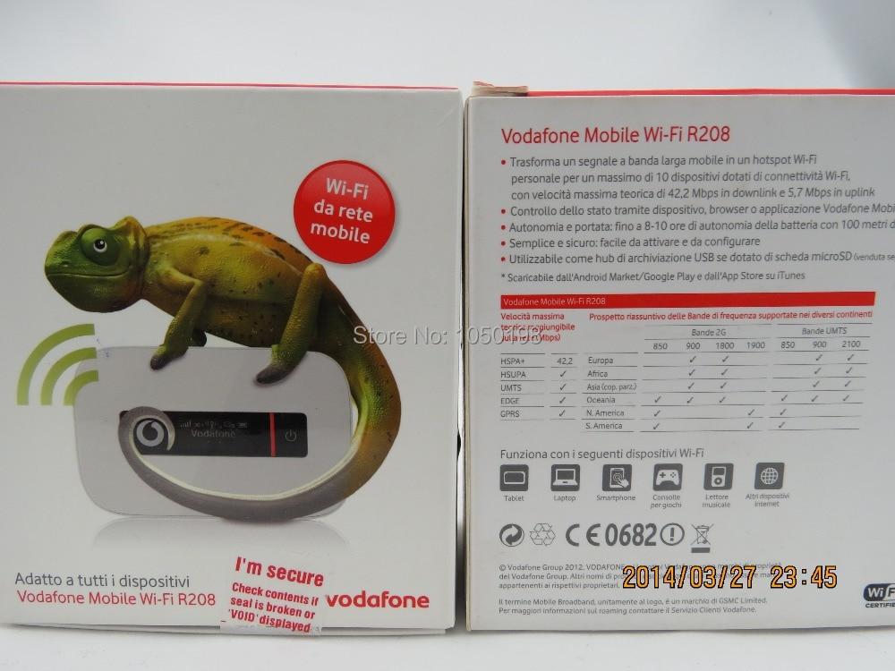 43.2 Mbps Unlocked Originele Huawei Vodanfone R208 Wirelss Sim Wifi 3g Router Soho Hotspot Gemakkelijk Te Repareren