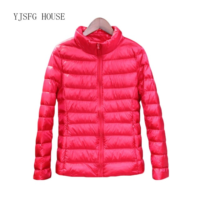 292c7ce0a US $20.04 41% OFF|New Womens Feather Vest 2019 New Winter Warm Ladies  Quilted Padded Bubble Winter Light Warm Puffer White Duck Down Coat  Jacket-in ...