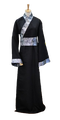 Chinês Tradicional Traje Hanfu Homens Tang Antiga Espadachim Cosplay Traje para o Desempenho Do Estágio Roupa Robe Masculino Nacional 89