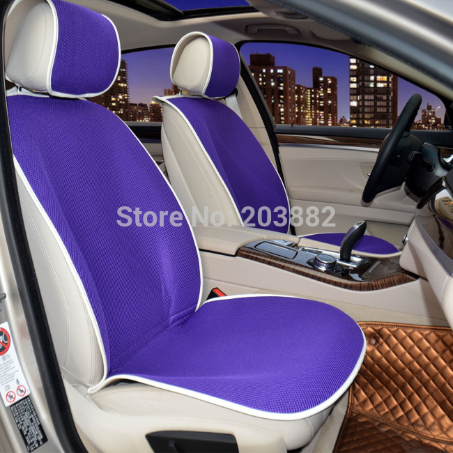Ruich Fashional Super Slim Design Car Seat Cover Breathable Sandwich Auto Vehicle Protector Simple Installation In Automobiles Covers From