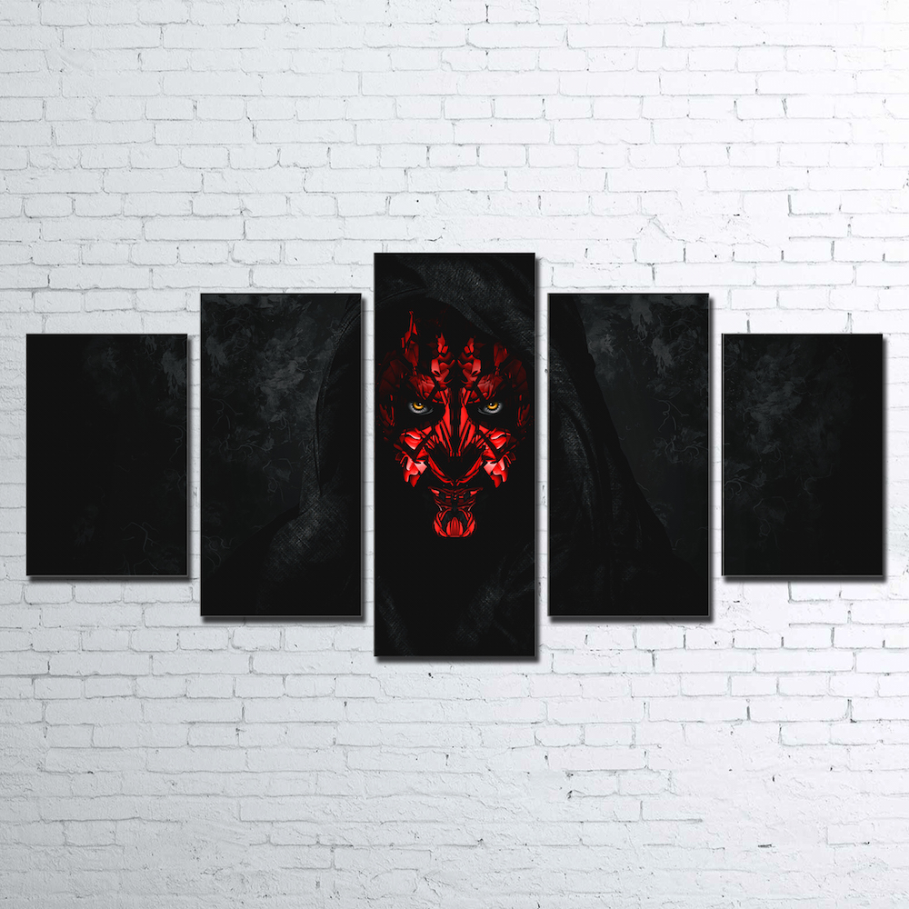 Canvas Wall Art Pictures Frame Home Decor Living Room 5 Pieces Star Wars Painting Modern HD Printed Movie Game Characters Poster