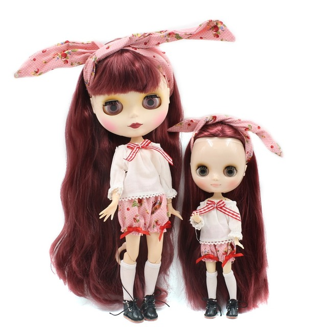 Factory Sister Blythes Neo and Middie Blythe Dolls Combo Set
