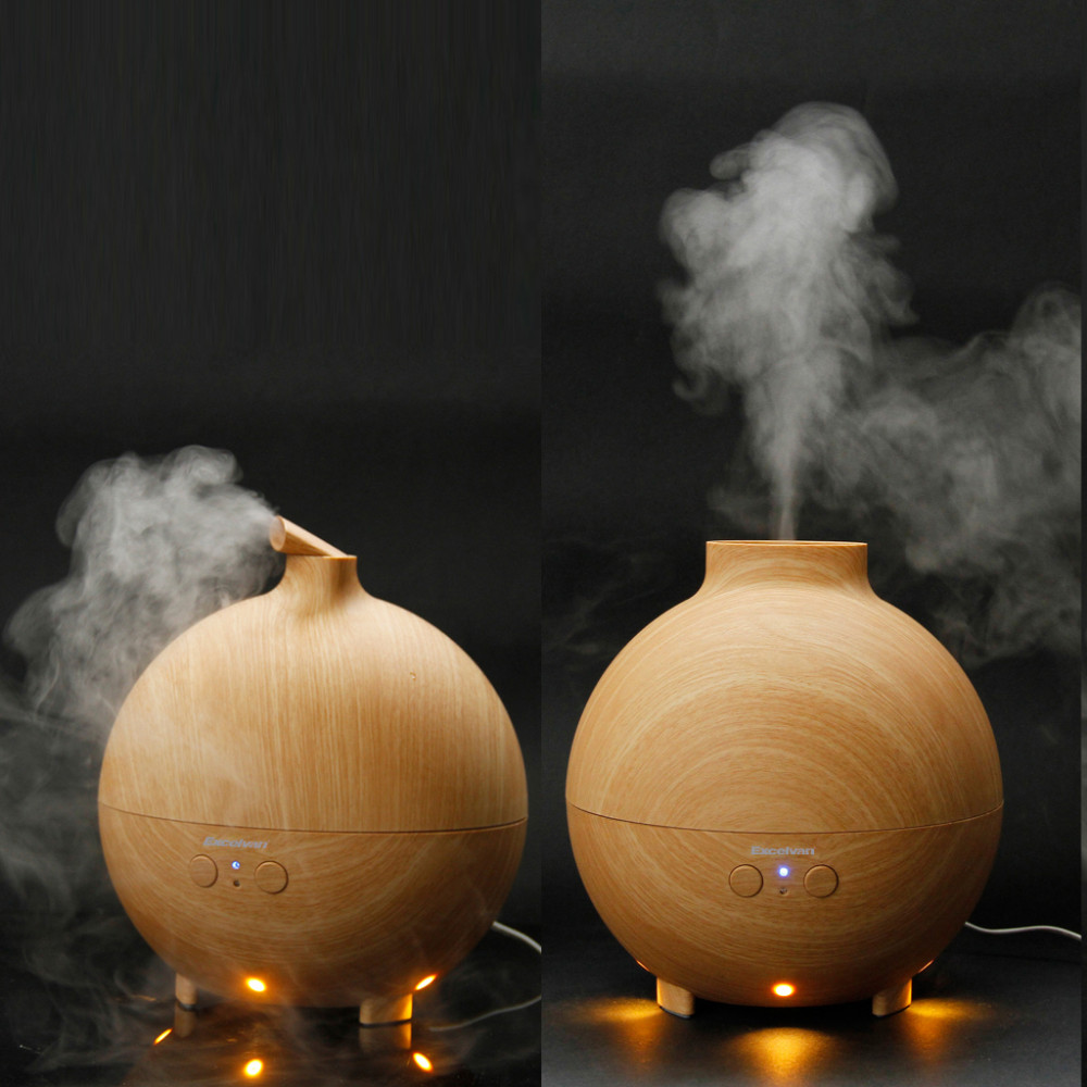 142638201_3_Excelvan Essential Oil Aroma Diffuser Ultrasonic Humidifier Air Mist Aromatherapy Purifier Woodgrain Model 20006A EU