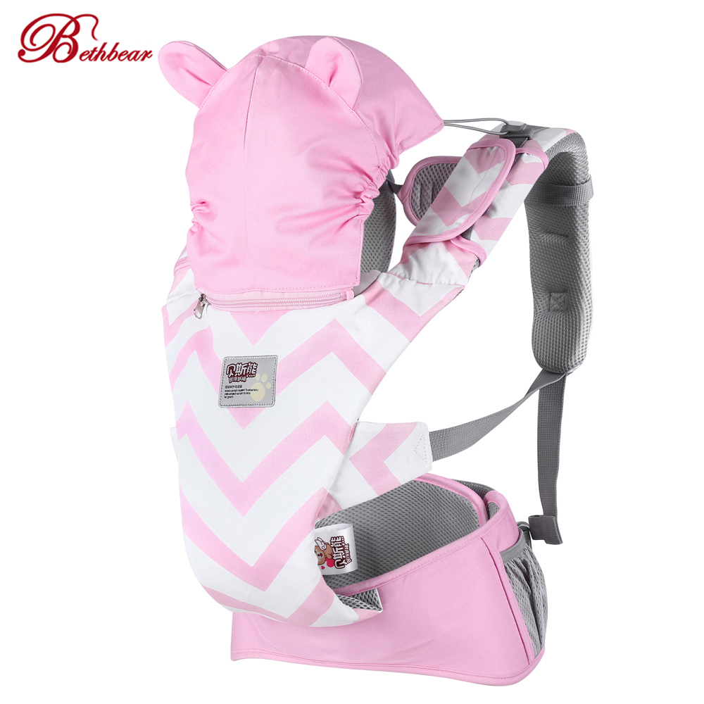 Hot Sale Beth Bear Newborn Baby Carrier Breathable Front Carry