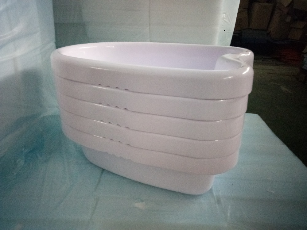 BEST QUALITY FOOT SPA PLASTIC BASIN,foot tub for detox foot spa or ion cleanse machine