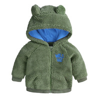 Autumn Baby Boy Coat Toddler Hoodies Sweatshirts Baby Infant Girls Winter Hooded Coat Cloak Jacket Thick Warm Kids Clothes