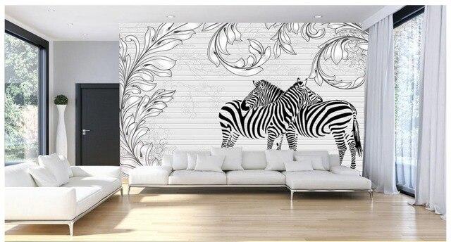 3d papier peint personnalisé 3d peintures murales de papier peint ...
