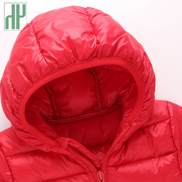 1de6fa1b6 Children s winter jackets down jacket for girl autumn Warm hooded ...