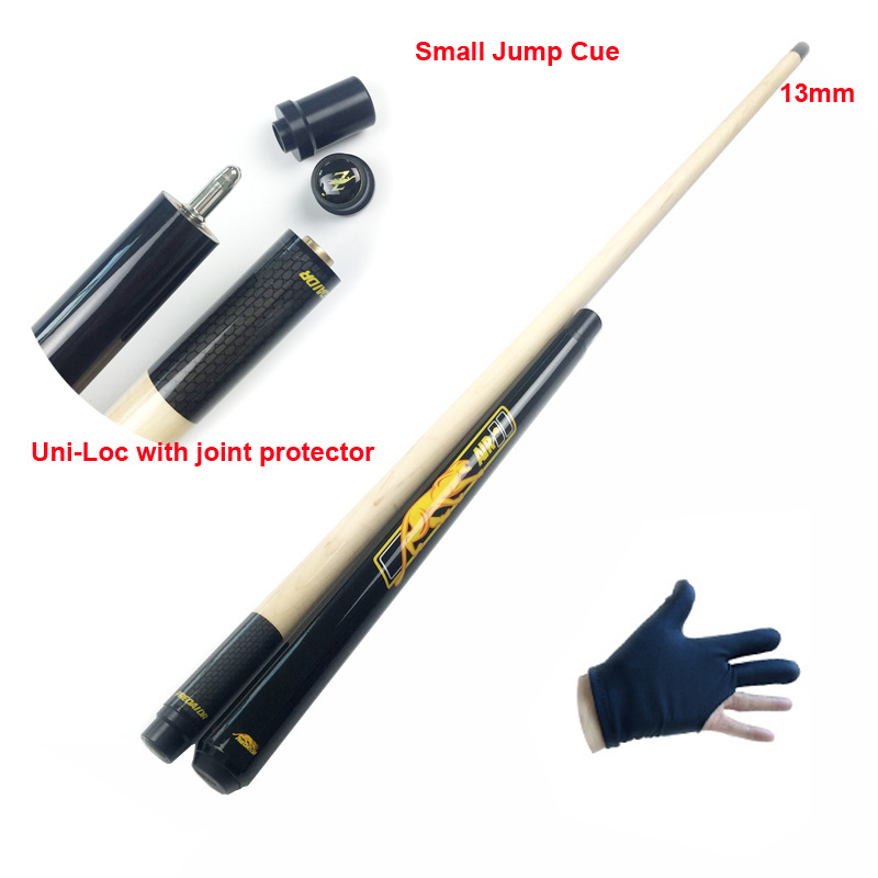 free shipping 2018 Billiard Pool cues in 13mm tip Maple small Jump Ball Arm cue stick