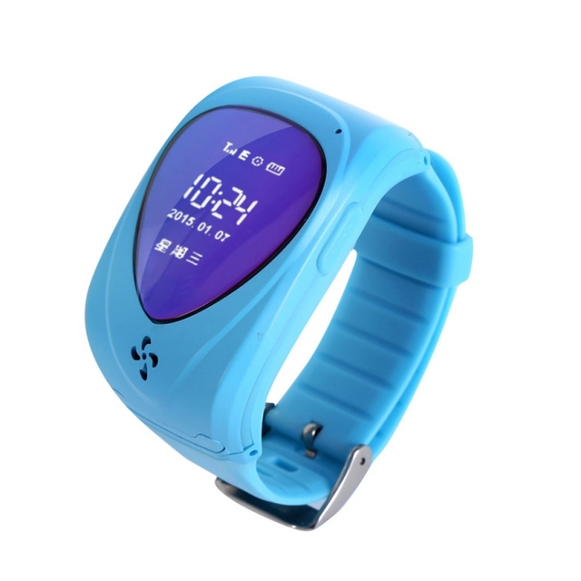 Kids Smart Safe GPS Watch Wristwatch SOS Call Location Finder Security Tracking for Kid Child Anti Lost Monitor Baby Gift