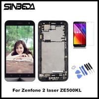 Sinbeda AAAA Tela 5 0 LCD Screen Display For ASUS Zenfone 2 Laser ZE500KL Touch Screen