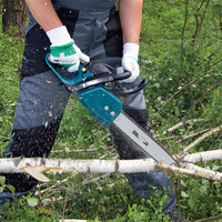 Petrol Chain Saw Chainsaw Logging Saws Woodworking Chain Saw Displacement: 32mL 1.35kW/1.8PS