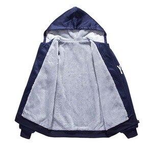 Image 5 - BOLUBAO nowe zimowe dresy zestaw dla mężczyzn zagęścić bluzy + spodnie garnitur wiosenna bluza zestaw odzieży sportowej mężczyzna bluza z kapturem odzież sportowa