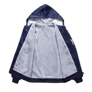 Image 5 - Bolubao novo inverno conjunto de treino dos homens engrossar hoodies + calças terno primavera moletom conjunto de roupas esportivas masculino com capuz ternos esportivos