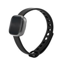 Bluetooth Smart часы браслет сердечного ритма удаленного Камера Браслет Шагомер фитнес напоминание smartband для iOS и Android