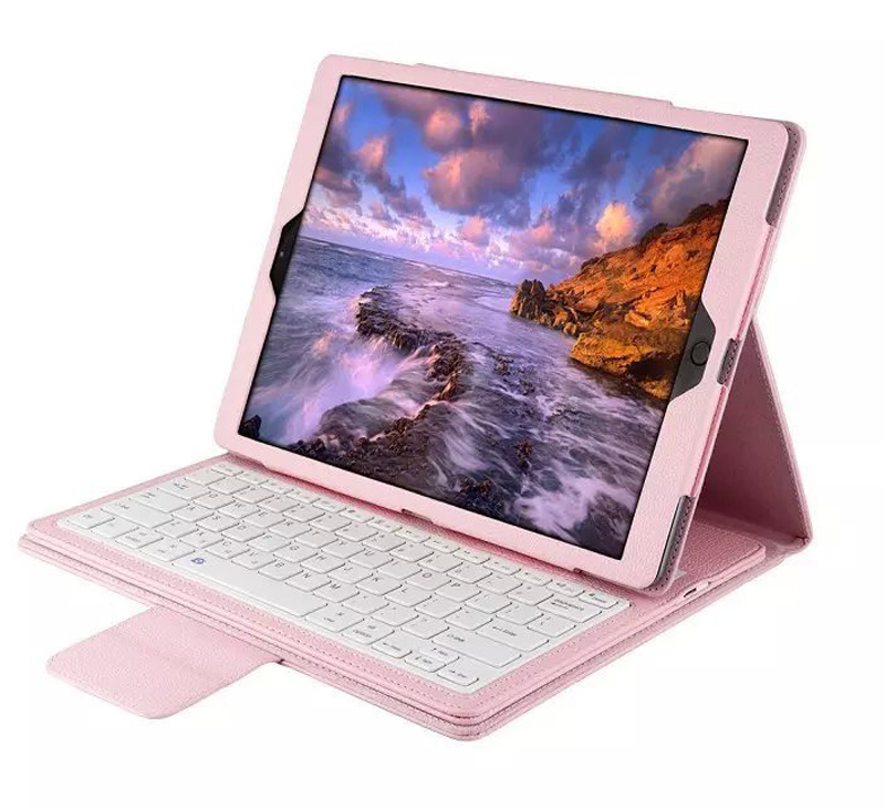 Bluetooth keyboard Case Cover For ipad 2017 2018 ABS split keyboard holster For ipad Air 1 Embossed keyboard For ipad Air 2 bags (4)