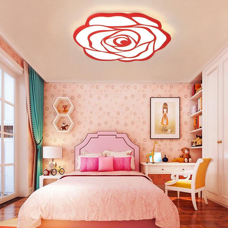NEO Gleam Princess Welding Room Modern led ceiling chandelier lights Children Kid Room 85 265V modern