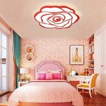 Neo Gleam Princess Welding Room Modern Led Ceiling Chandelier Lights Children Kid 85 265v Fixture