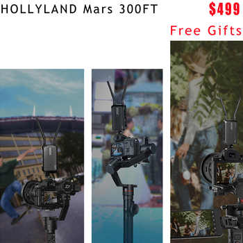 HOLLYLAND Mars 300 300FT HDMI 1080P photography Transmitter For Camera Image Wireless HD Video Transmission Receiver Mars300