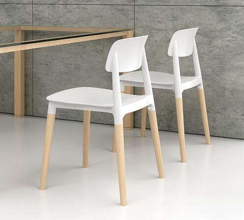 YINGYI Best Selling ABS Plastic Dining Chair Without Arms Free Shipping