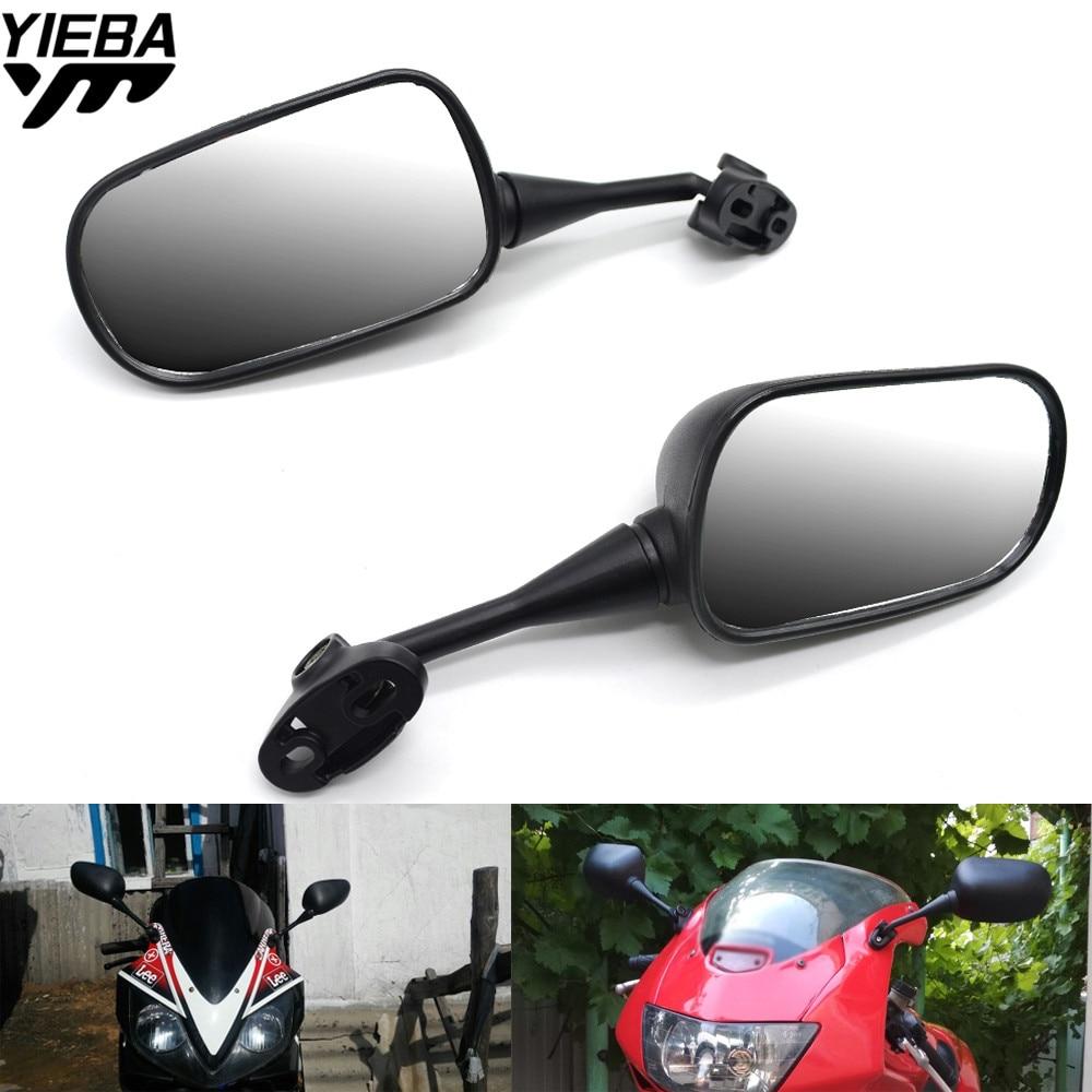 Universal Motorcycle Mirror Motorbike Side Mirror Rearview Mirror For Honda CBR 600 F2 F3 F4 F4i CB919CBR954RR CBR600RR CBR900RR цена 2017