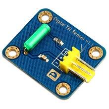 Arduino one-way inclination sensor ball rolling switch digital sensor electronic building block green