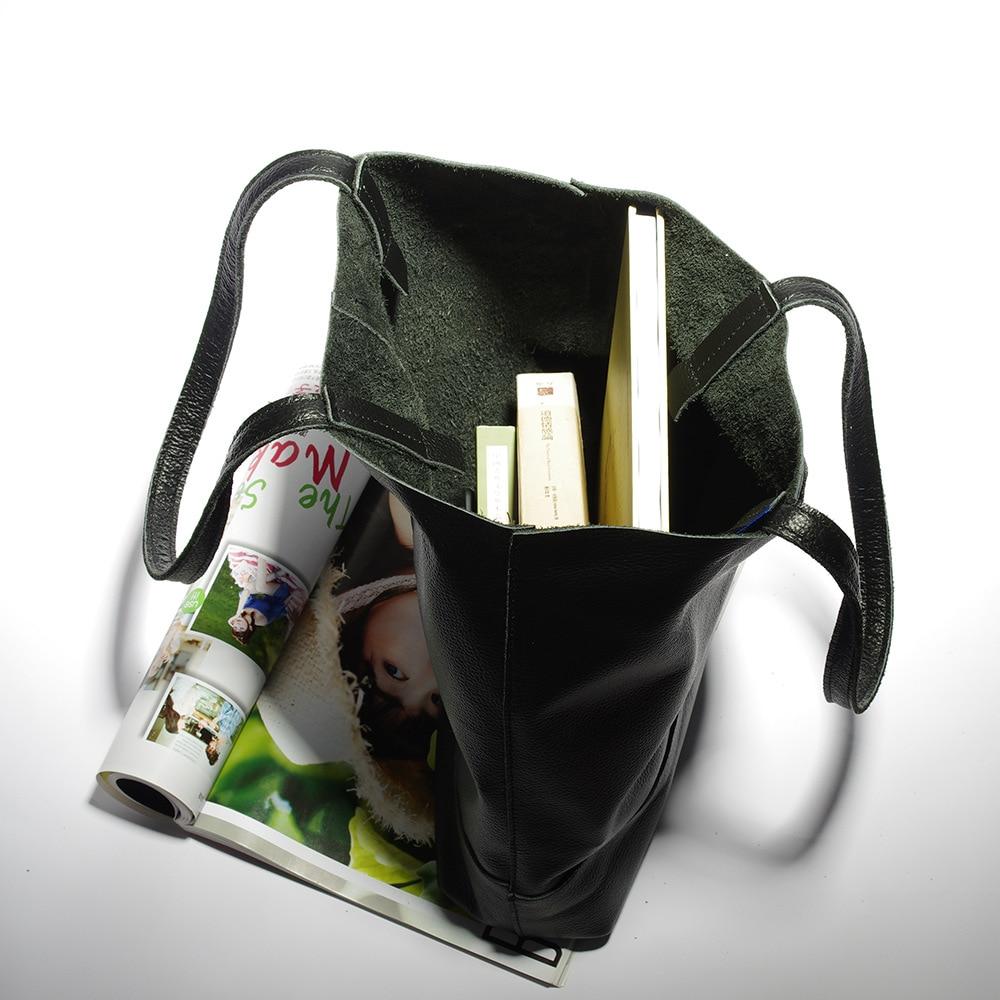 women handbags genuine leather female messenger bags designer casual ladies tote bags Bolsa Feminina (7)