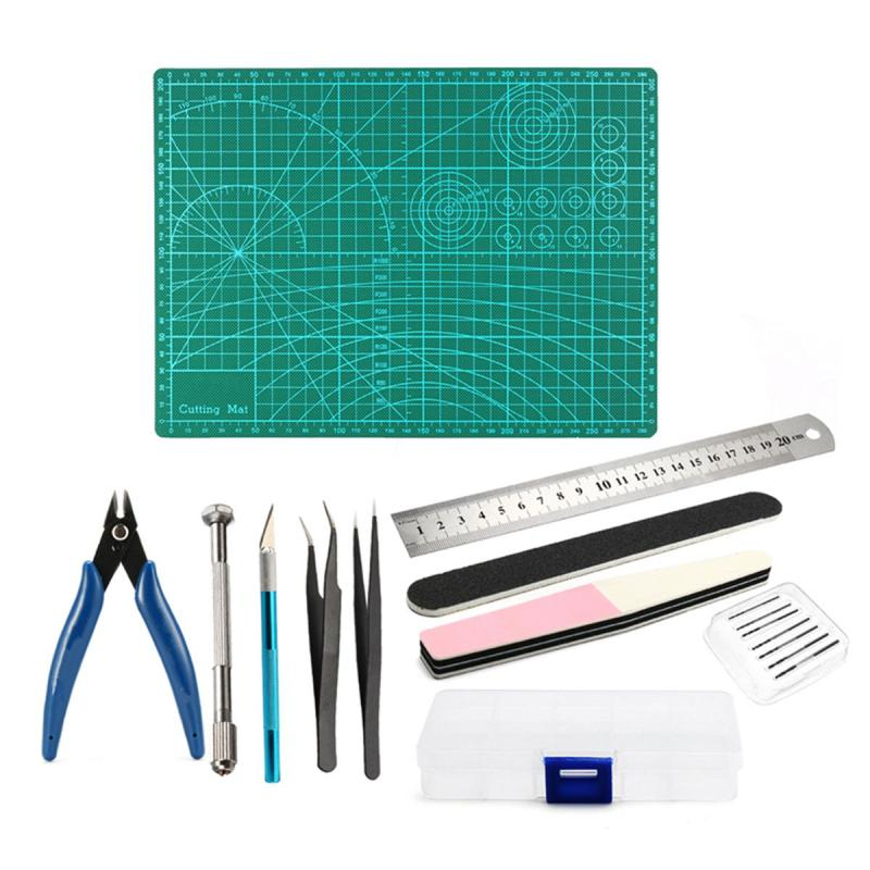 Multifunction DIY Modeler Basic Tools Craft Set Hobby Model Building Kit for DIY Car Model Assemble Building Kit Hand Tool Sets цены