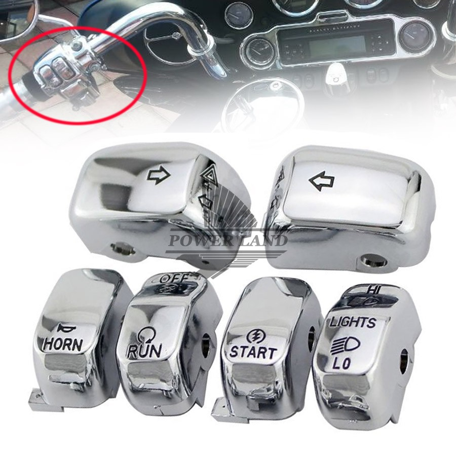 Motorcycle Turn light Horn Electra Glide FLHX Hand Control Buttons ...