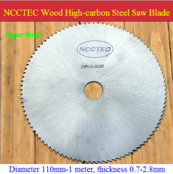 9'' 80 teeth High-carbon Steel circular saw blade for expensive WOOD FREE Shipping NWC98HT11   230mm SUPER THIN 1.1mm cut disk