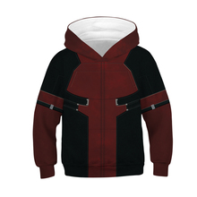Fans Made Deadpool Unisex Hoodie Fashion 3D Printed Long Sleeve Marvel Casual Tops Childrens Spiderman Pullover