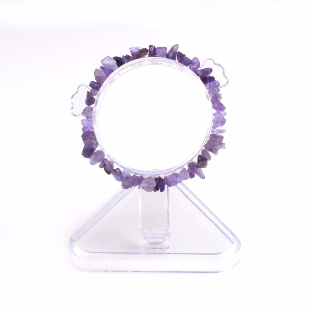 Summer Bracelet Multicolor Natural Stone Chips Single Strand Women Bracelets Tiger Eye Reiki Lovers Gift 4