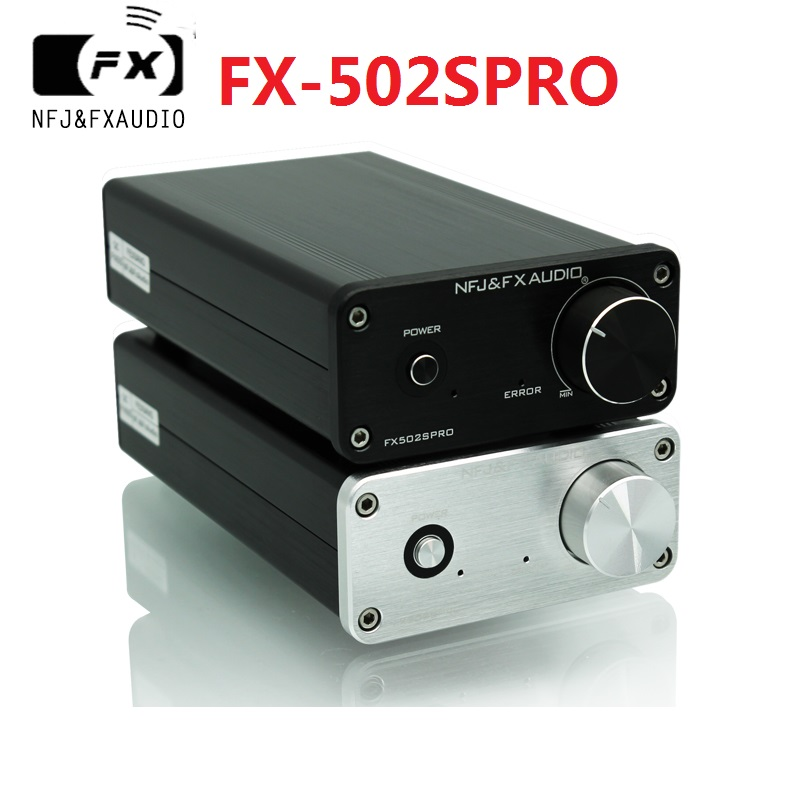 2017 FX-Аудио Новый fx-502spro HiFi 2.0 стол полный цифровой аудио Усилители домашние принятие tpa3250 высокое Мощность 70 Вт * 2 dc24v/4A Питание