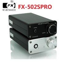 2020 fx-áudio novo FX-502SPRO de alta fidelidade 2.0 amplificador de potência de áudio digital completo adotando tpa3250 alta potência 70w * 2 dc24v/4a fonte de alimentação