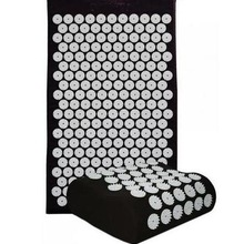 Yoga Mat Acupressure Massage Mat with Pillow Body Pain Stres