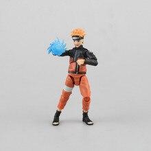 Anime Naruto SHFiguarts Naruto Shippuden Uzumaki Naruto / Uchiha Sasuke PVC Action Figure Collectible Model Toy Brinquedos