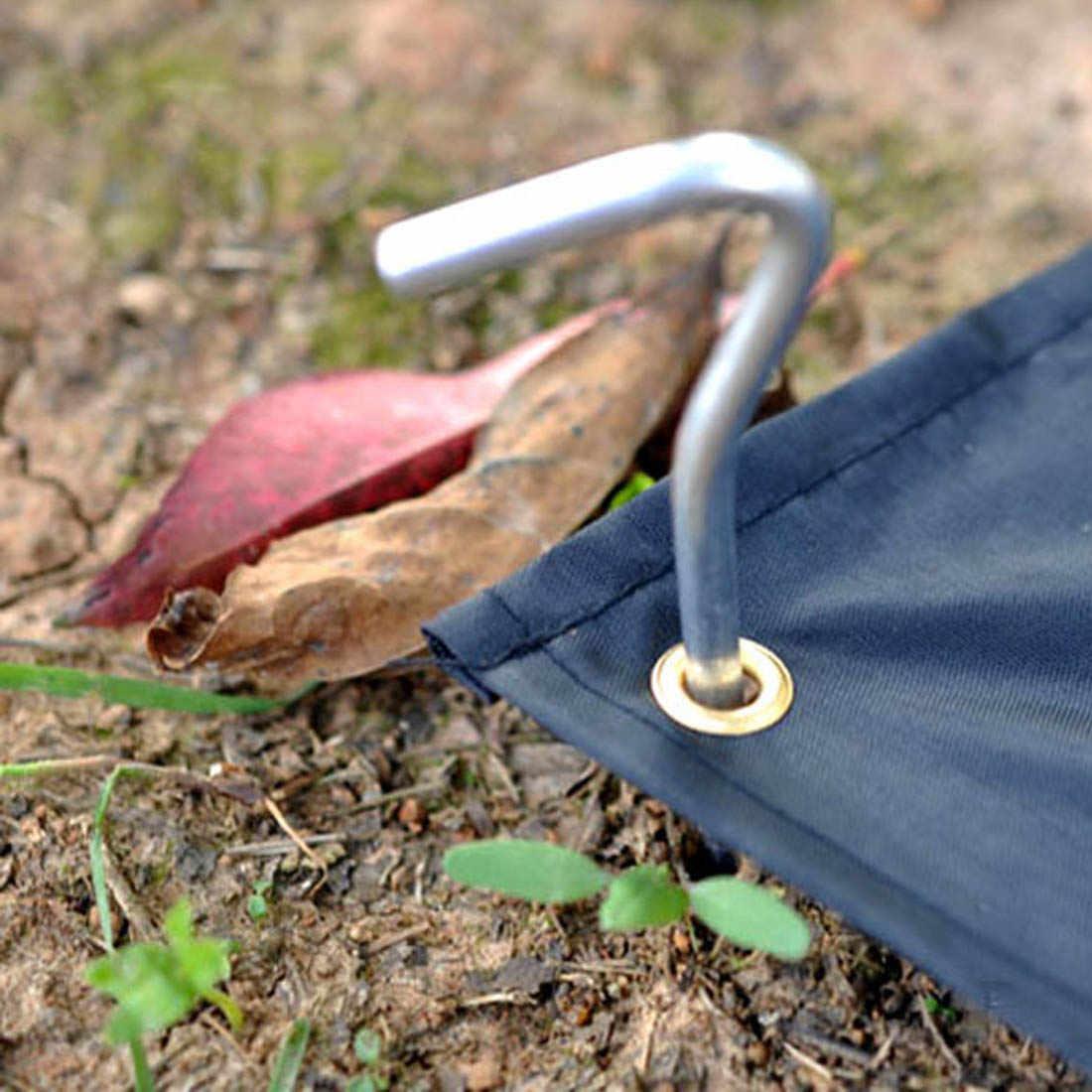10 Pcs เต็นท์หมุดอลูมิเนียมเต็นท์เล็บเต็นท์ Stake เล็บ GROUND PIN Camping Hiking เครื่องมือกลางแจ้งเต็นท์อุปกรณ์เสริม