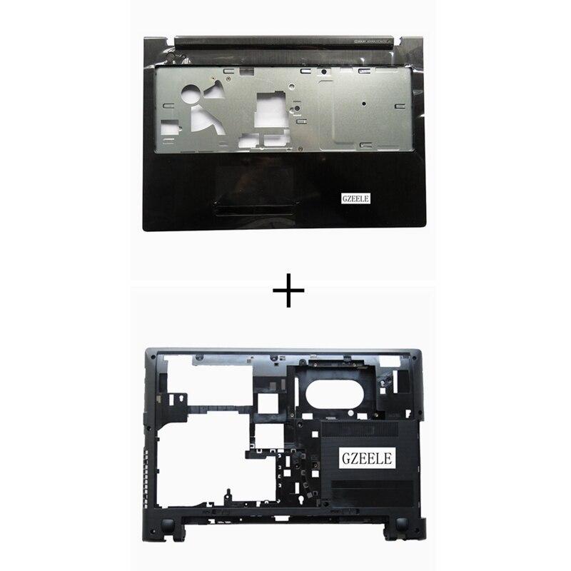 NEW FOR Lenovo IdeaPad G500S G505S Z501 Z505 Laptop Palmrest cover Upper Case + Bottom Case Cover